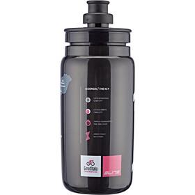 Elite Fly Giro d'Italia Map Drinking Bottle 550ml, black